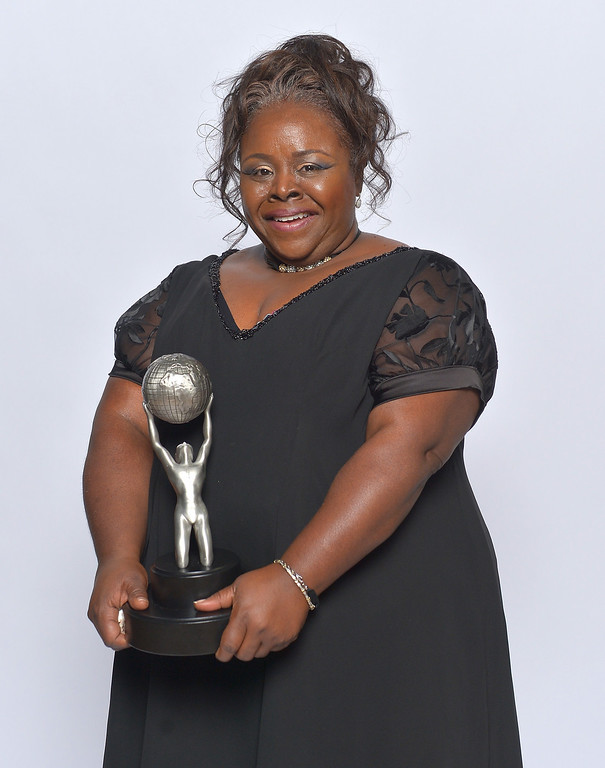 . LOS ANGELES, CA - FEBRUARY 01:  Actress Cassi Davis, winner of Outstanding Actress in a Comedy Series for \'Tyler Perry\'s House of Payne,\' poses for a portrait during the 44th NAACP Image Awards at The Shrine Auditorium on February 1, 2013 in Los Angeles, California.  (Photo by Charley Gallay/Getty Images for NAACP Image Awards)