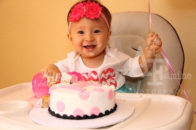 Caroline's 1st Birthday