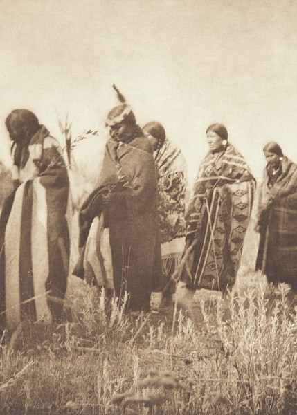 Tobacco Ceremony - Apsaroke (Indians of North America, v. IV. Cambridge, MA: The University Press, 1909)