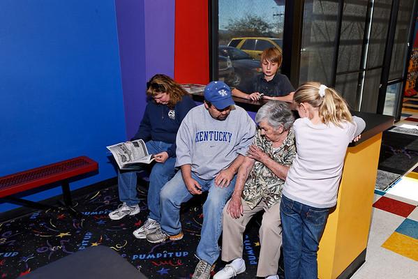 2008 Feb 2 - Jake 9th Birthday - Pump it Up