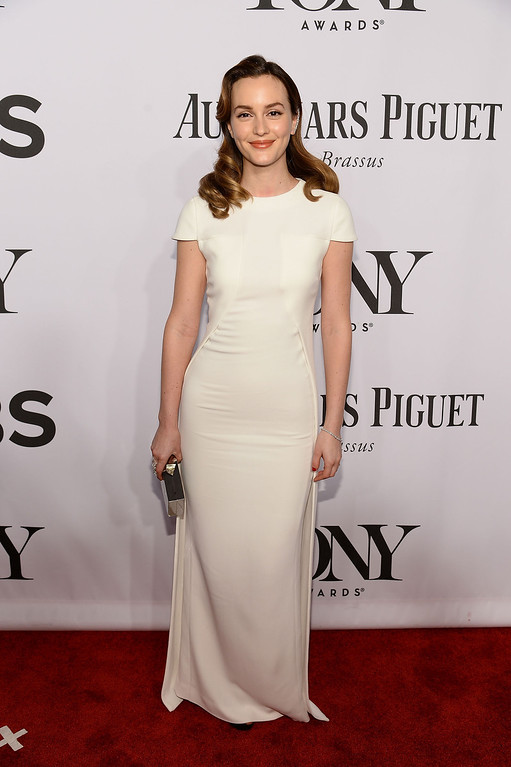 . Actress Leighton Meester attends the 68th Annual Tony Awards at Radio City Music Hall on June 8, 2014 in New York City.  (Photo by Dimitrios Kambouris/Getty Images for Tony Awards Productions)