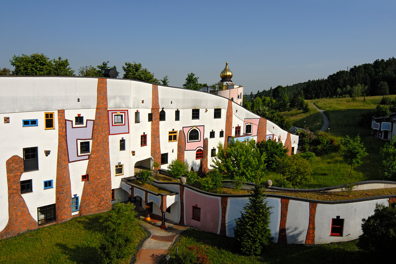 Rogner Thermal Hotel in Bad Blumau, Austria