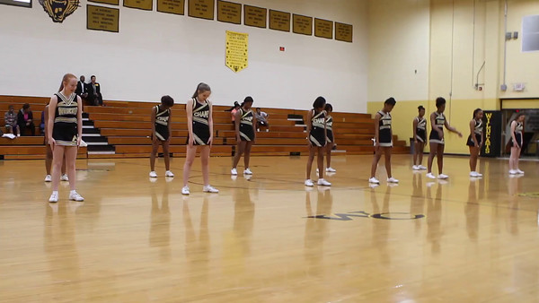 Dance Team and Cheerleaders February 1, 2016