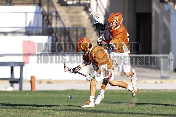 Boone Braves @ University Cougars Boys JV Lacrosse - 2015