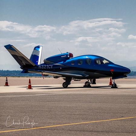Cirrus SF50 Vision Jet at RMMA