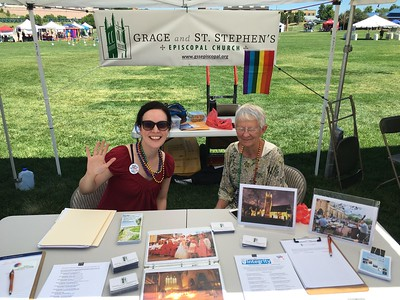 Grace at PrideFest - July 9-10, 2016