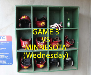 NCAA World Series Game 3 vs Minnesota on Wednesday