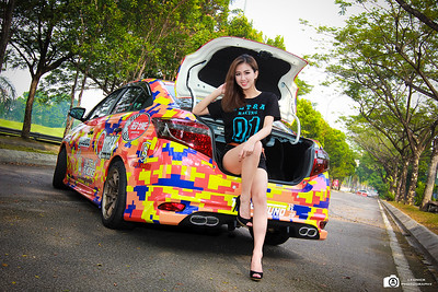 Toyota Vios 2013 With Christine Pang