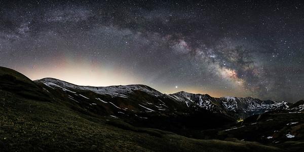 Loveland Pass Milkyway, Colorado