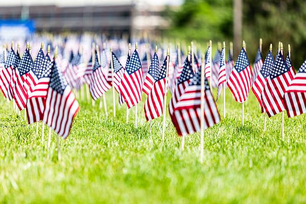 US Flags - Memorial Day