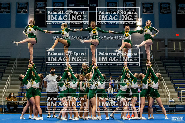 Conway Varsity Cheer 5A Qualifier