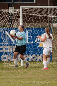 2012 PHS JV Girls Soccer vs Mercy