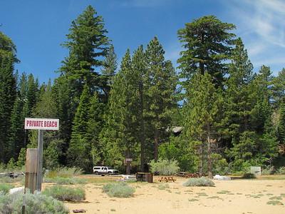Cascade Lake and Tahoe Shoreline