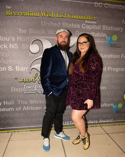 Bill Myers, Heather Lucas. Photo by Yasmin Holman. 25th Anniversary RWLC. Washington, D.C. 11.02.2019