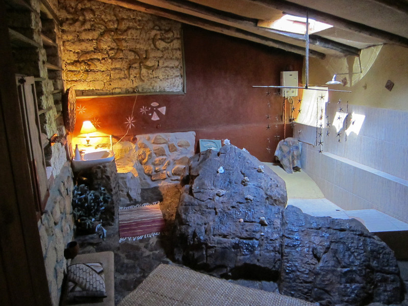 Bathroom at the Las Chulpas Eco Lodge: http://www.chullpas.pe/
