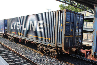 Bogie Container Wagon