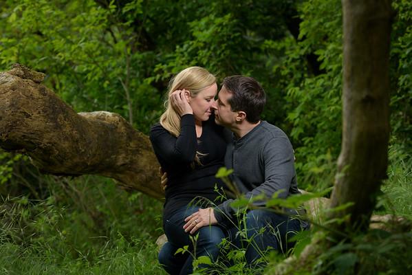 Kim and John (Engagement Photography) @ Henry Cowell Redwoods, Felton, California