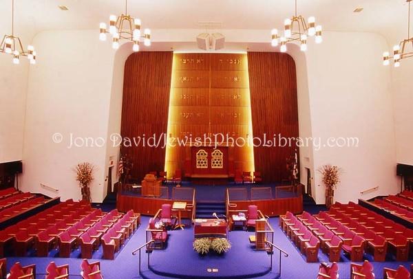 USA, Oregon, Portland. Congregation Shaarie Torah. (2008)