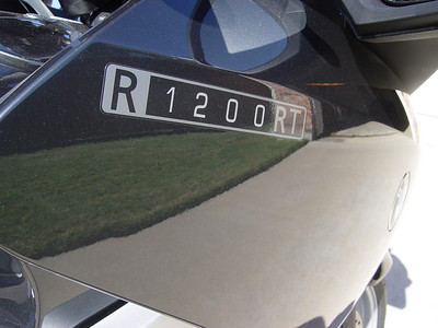 2006 BMW R1200RT Comes Home
