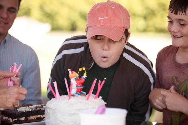 Liam turns 13