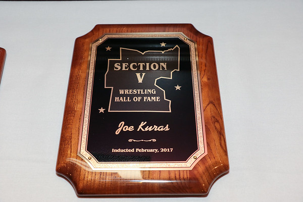 2017 Section V Wrestling Hall of Fame