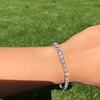 9.50ctw Round Brilliant Diamond Tennis Bracelet 55