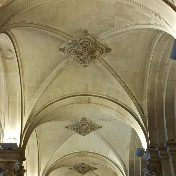Inside Hotel de Ville