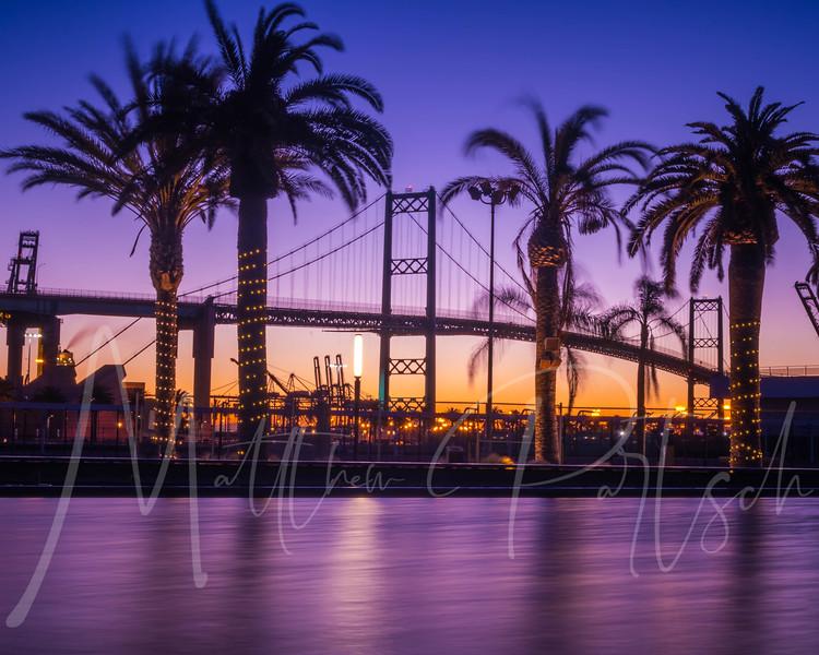 Morning colors in San Pedro, CA