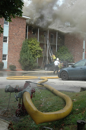 Laurel Hill, 3rd Alarm 08-24-09