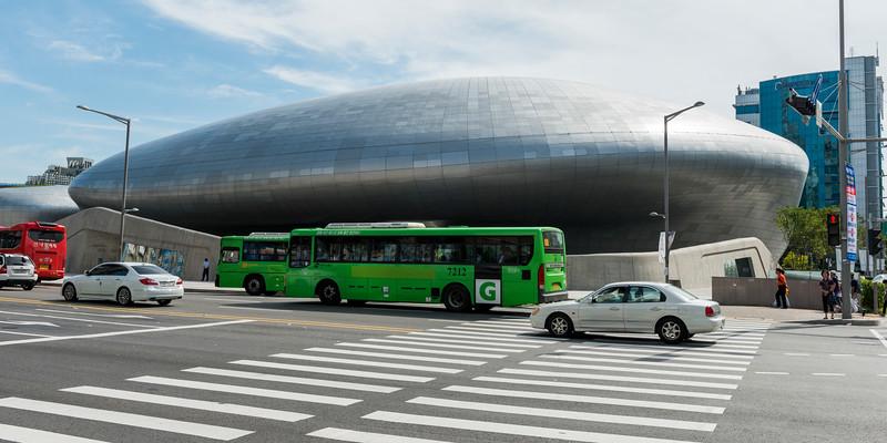DDP - dream design play, Dongdaemun History and Culture Park, Seoul, South Korea