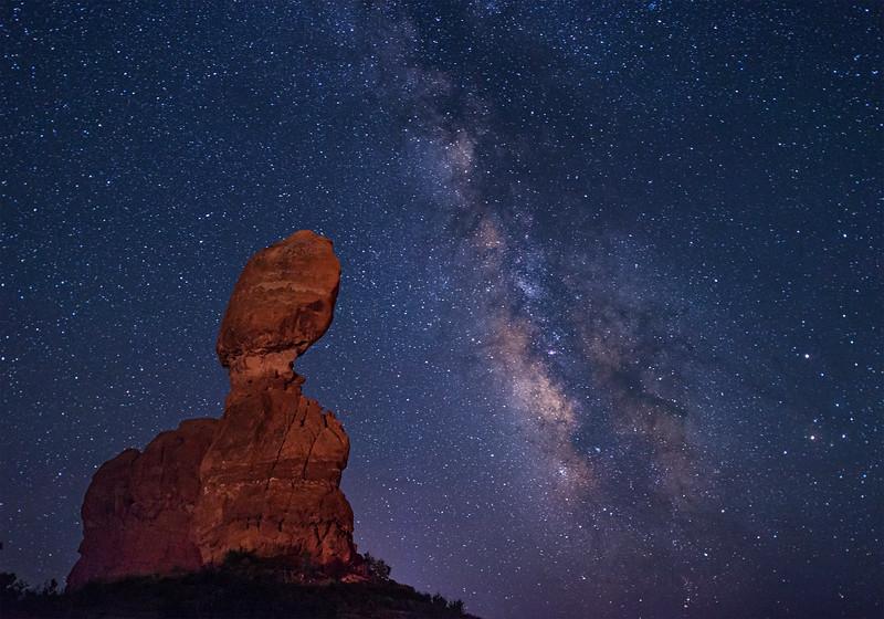 Balanced Rock Milky Way