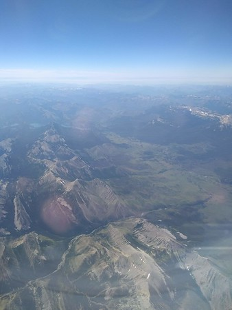 July 22 - Montana flight, Apgar Village