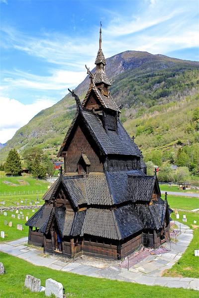 Borgund Stave-Church.