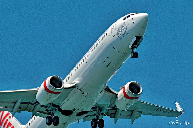 PassengerJet Departing.