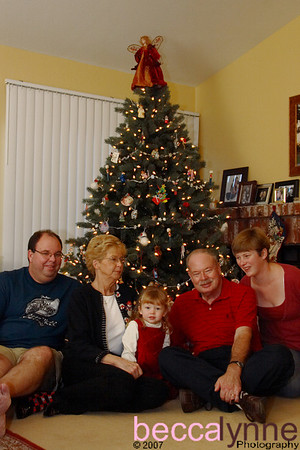 december 22. 2007 christmas with nana & papa
