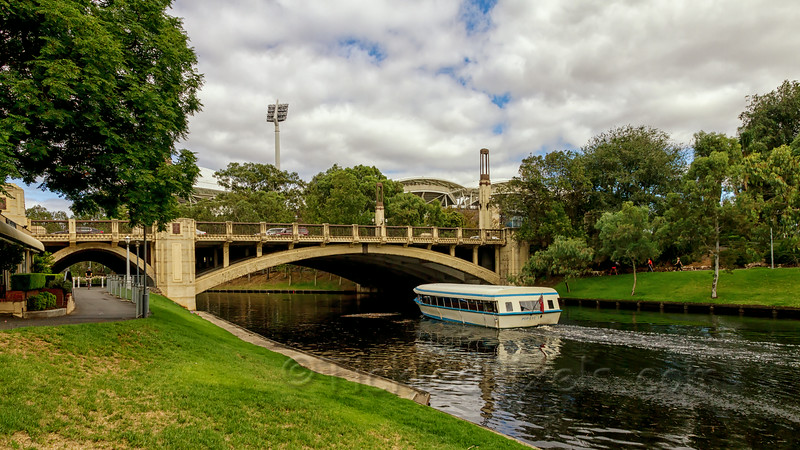 Popeye I on the River Torrens