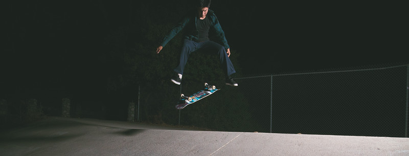 Night Skate Session With Cole and Nick
