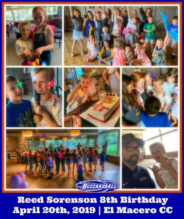 Reed Sorenson 8th Birthday (Dance Party!) | APRIL 20TH, 2019