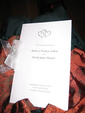 Rebecca and Derek's Wedding