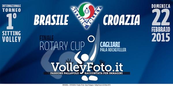 BRASILE-CROAZIA FINALE Torneo Int.le Sitting Volley CAGLIARI