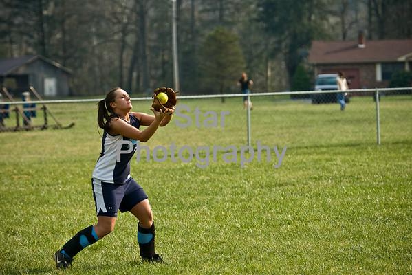 HHS vs. CHS (softball) (03-24-09)