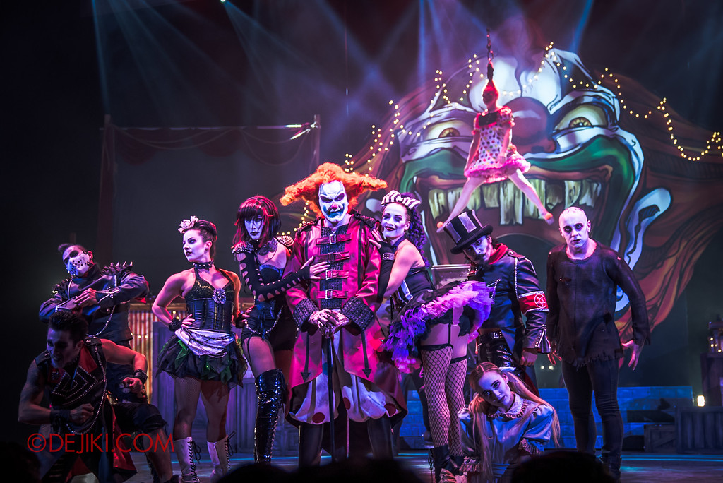 Halloween Horror Nights 6 - Jack's Recurring Nightmare Circus / Maniacs