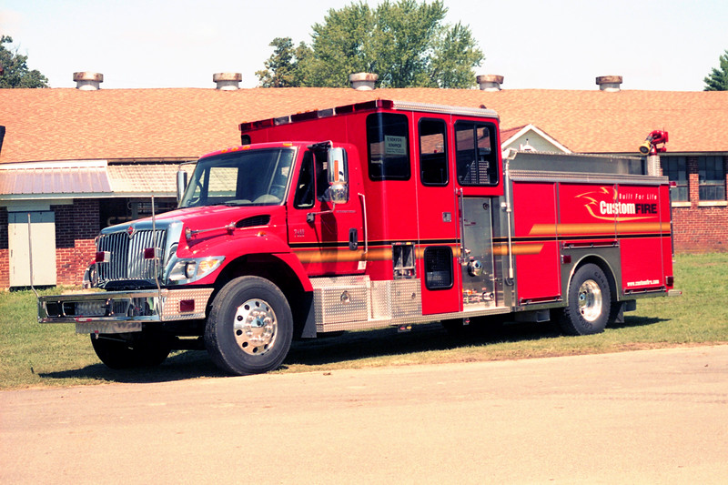 CUSTOM FIRE DEMO PUMPER