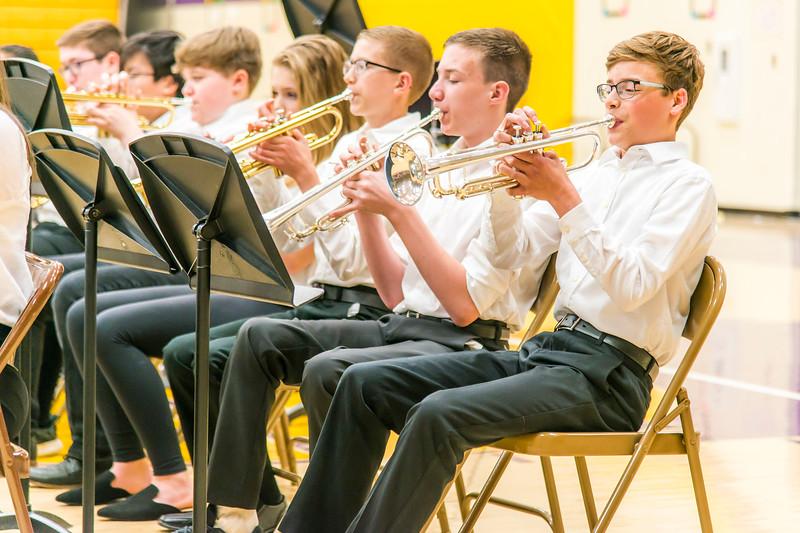 Soren Green's 8th Grade Band Concert 2019