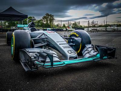 AMG Mercedes F1 Car