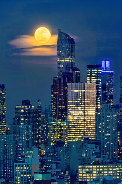 New York City -  Full Snow Moon