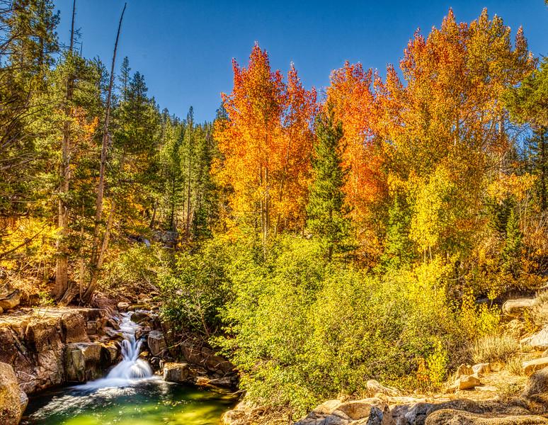 Sonora Pass Fall on Leavitt Creek