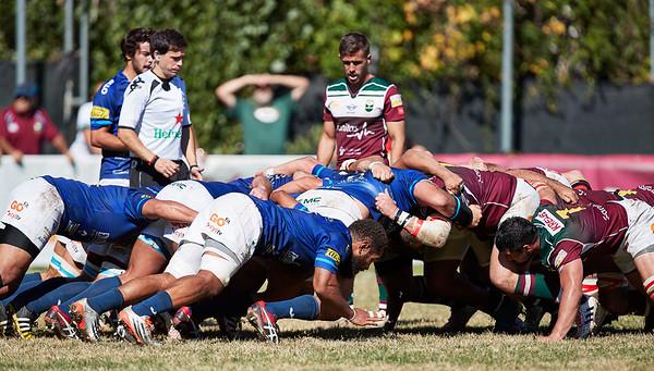 08 Oct 2017 Sanitas Alcobendas Rugby v VRAC Quesos Entrepinares
