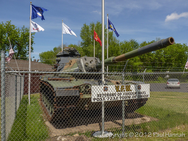 VFW Post 7232 - Eau Clare, WI - M60A3