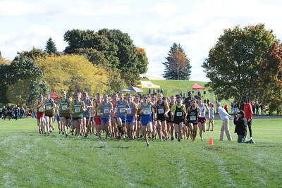 Men's Start & Loop 1 - 2016 GLIAC XC Championship